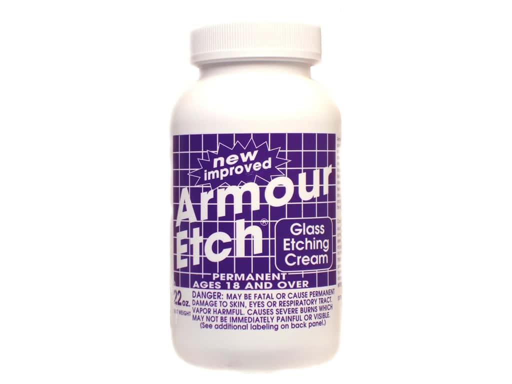 Armour Etch Glass Etching Cream 22oz