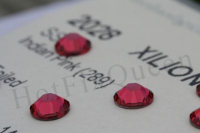 12ss INDIAN PINK - Swarovski Elements FLATBACK 144pcs