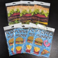 SOCK SALE 7 PAIRS - (4)Forever Hungry / (3)Cheeseburger