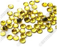 10SS CITRINE Hot Fix Rhinestones