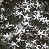 5mm Silver HotFix Star Nailheads 144pcs