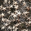 5mm Gold HotFix Star Nailheads 144pcs
